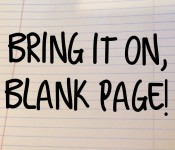 bring it on blank page